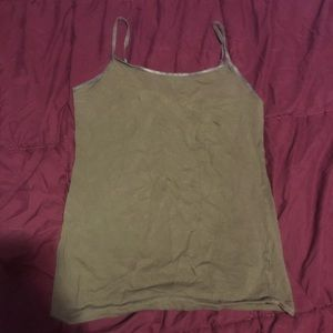 Olive green camisole